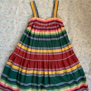 Multi-color fiesta dress